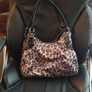 Madison coach ocelot purse